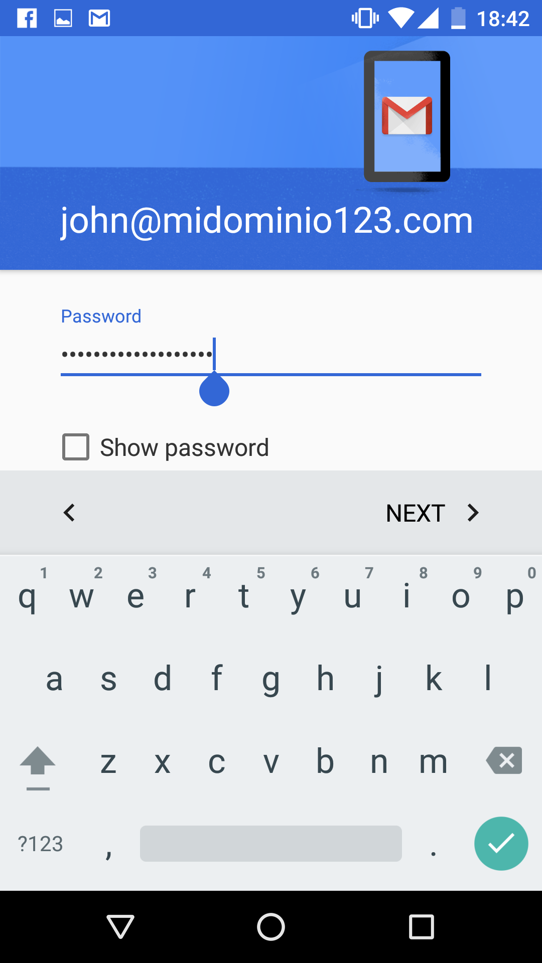 Configure an email account on Android 6 Marshmallow   Help Center