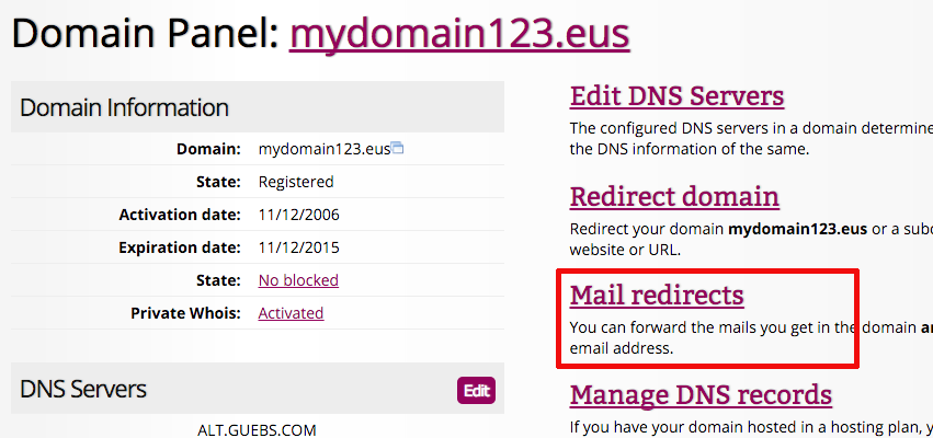how to create a free email domain